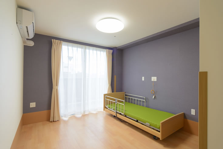 ユニットガーネット部屋写真